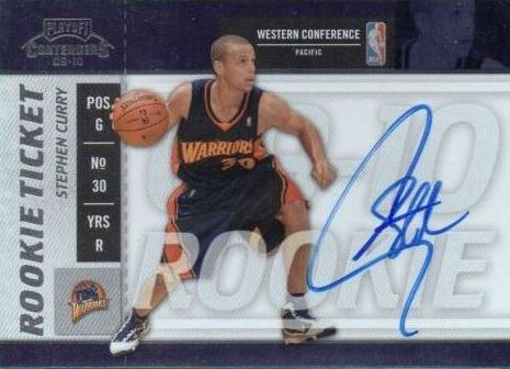 Most Expensive Stephen Curry Rookie Cards From 2009 10 Basketball