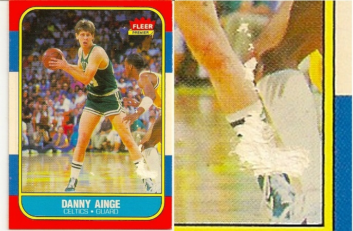 Danny Ainge 1986-87 Fleer Rookie Card