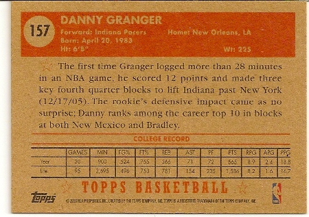 danny-granger-2005-06-topps-1952-style-rookie-card-back