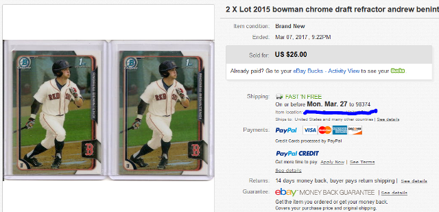 2015-bowman-chrome-draft-andrew-benintendi-rookie-card