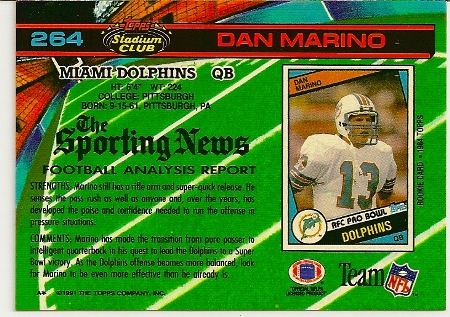 dan-marino-1991-topps-stadium-club-card-back