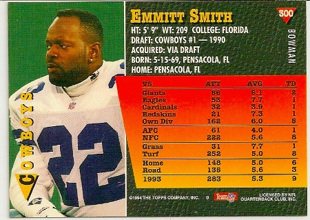 emmitt-smith-1994-bowman-card-back
