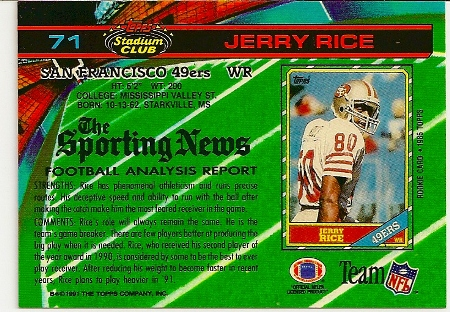 jerry-rice-1991-topps-stadium-club-card-back